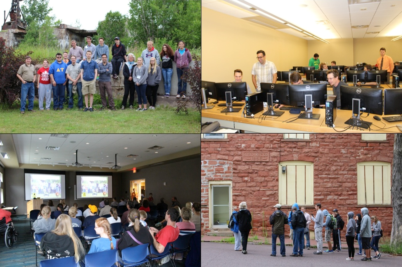 The GRACE project took high school students into the lab and field, helping to build the Copper Country HSDI while also using it to explore the historical built environment of their local community and, ultimately, to share their experiences through public presentations.
